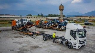 De Rooy transport Brescia