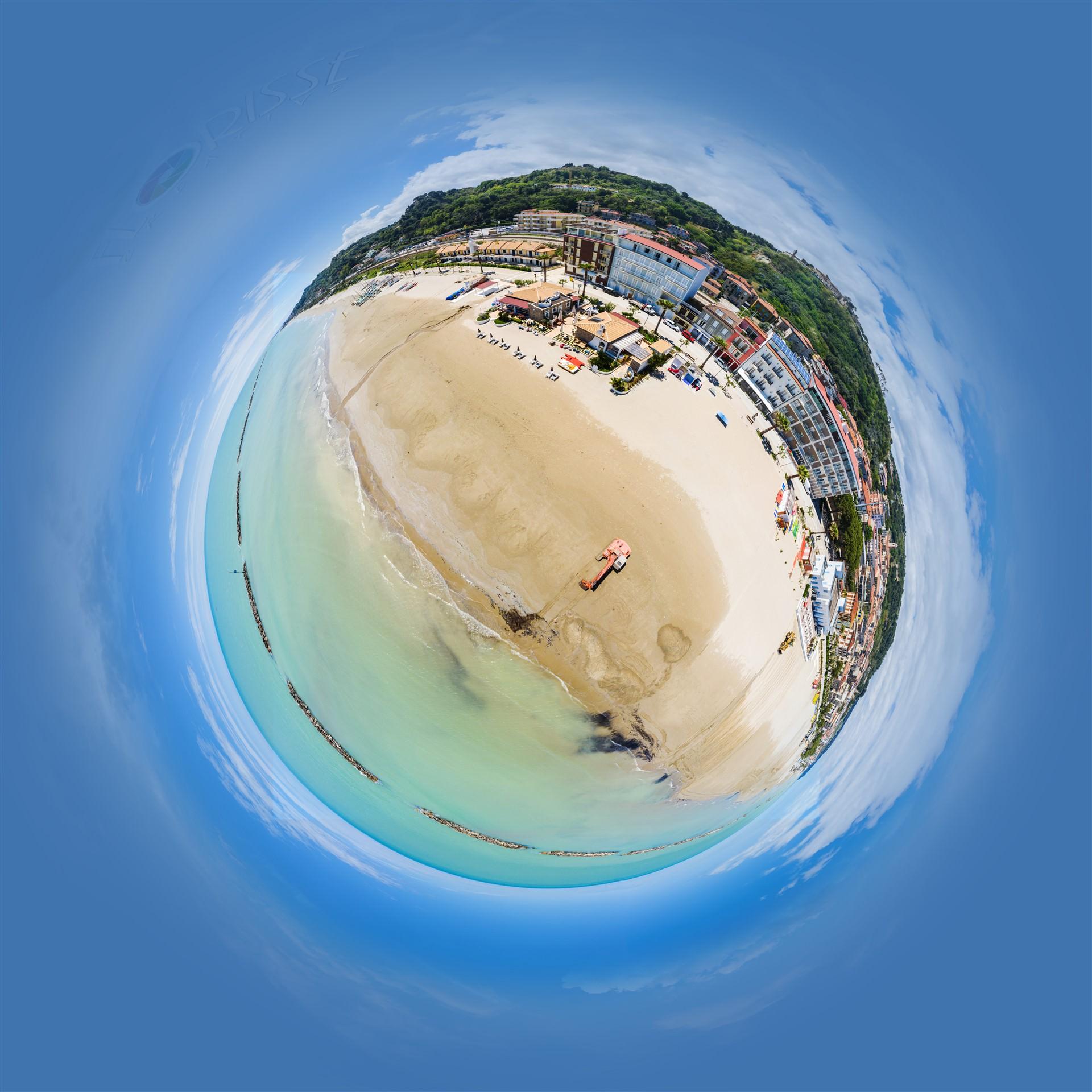 Panorama Italie strand 360 Planet